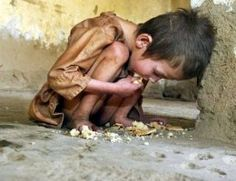 If we think of these kids every time we want to indulge in luxury the world would be a better world and poverty will not exist.