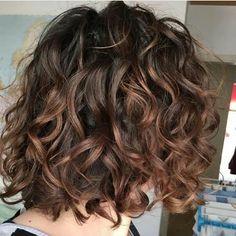 Haircuts For Curly Hair, Short Wavy Hair, Permed Hairstyles, Medium Curly Bob, Short Curly Cuts, Layers For Curly Hair, Color For Curly Hair, Perms For Short Hair, Curly Hairstyles For Medium Hair