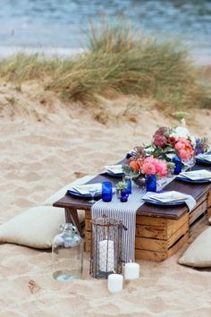 15 Ways to Throw the Best Decorated Picnic EVER via Brit + Co.