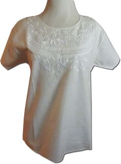 54789a837c83fe Beautiful hand embroidered Oaxacan peasant blouse S M - My Mercado Mexican  Imports  MexicanClothes