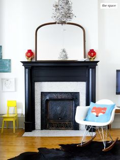 decorology: A super charming, relaxed & artsy home by a well-travelled mom and her little one via Covet Garden