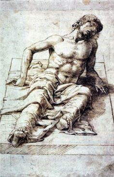 Study for a Christ - Andrea Mantegna
