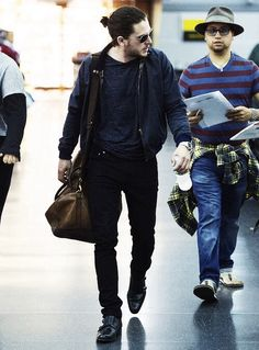 Kit Harington rushing home to  see me!  Lol!