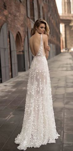 Featured Wedding Dress: Berta; www.berta.com; Wedding dress idea.