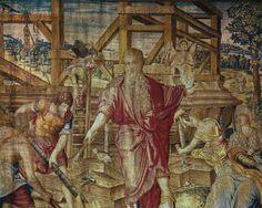 Michiel van Coxcie - Noah building the Ark (Cracow 16th C)