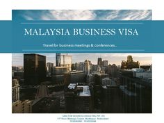 Connect with Sanctum Consulting for Malaysia business visa application to attend official meetings and attend business conferences in Malaysia.   Assign your visa work to our visa consultants and carry on with your business trip plan.  Contact Us at  +91 9030040088 | 040 - 40141022  #MalaysiaBusinessvisa #MalaysiaBusinessVisaDocumentRequirement #MalaysiaVisaFee #MalaysiaBusinessVisaDocumentChecklist #MalaysiaBusinessVisaforIndianNationals  #Malaysia BusinessVisaApplicationForm Business Visa, Business Travel, Travel Tourism, Travel Tips, Cover Letter Format, Work Visa, Hyderabad, Trip Planning, Singapore