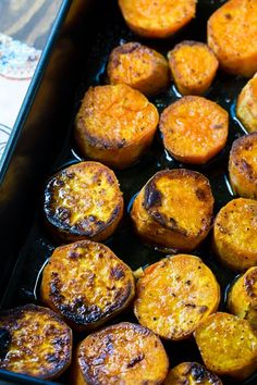 Melting Sweet Potatoes- the most delicious roasted sweet potatoes