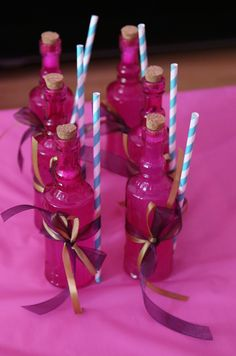 Aladdin & Jasmine party - The Drinks!