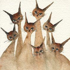 Kansas Stray Cats  straycatartbylorialexander.com