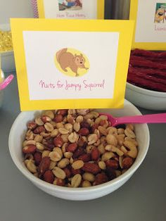 Curious George party food