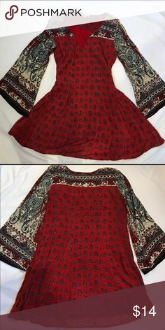 Bohemian Dress Super cute and flows really nicely. This is a short dress  from patrons of peace. Patrons of Peace Dresses Mini