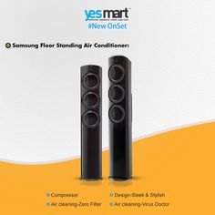 Are you planning to buy a new #AC? Then you must have a look on this New outcome of #Samsung 'Floor Standing Air Conditioner' with Amazing cooling technology. Now available @Yes Mart with challenging price. Visit to believe it! For more info visit: www.yesmart.in