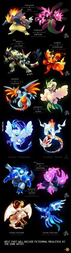 New Pokemon Fusions 2: Some of these I have and have not seen yet