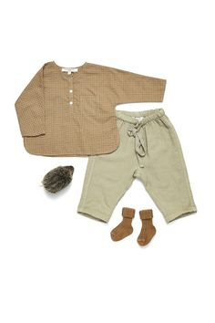 Summer shirt and pants - Caramel Baby & Child