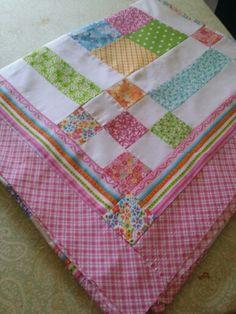 Details in Kara's quilt.