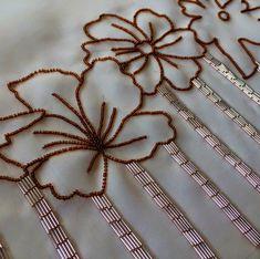 Atelier Silvia Perramon Tambour Embroidery, Blouse Designs, Beads, Stones, Embroidery, Atelier, Beading, Bead, Rocks