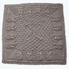 Basket of Owls Baby Blanket Crochet Pattern PDF by knotsewcute