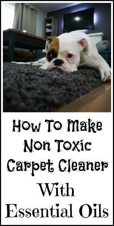 How To Make Your Own Non Toxic Carpet Cleaner With Essential Oils