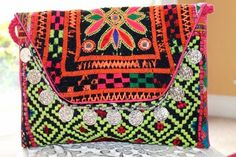 Gypsy, Large size clutch, tablet cover, cross body sling