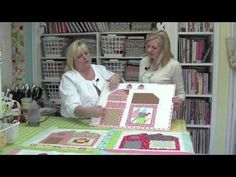 The Quilty Barn Along with Lori Holt of Bee in my Bonnet - Fat Quarter Shop - YouTube