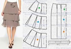 Japanese Sewing Patterns, Skirt Patterns Sewing, Clothing Patterns, Circle Skirt Pattern, Pattern Draping, Pola Rok, Velvet Dress Designs, Sewing Clothes Women, Prom Girl Dresses