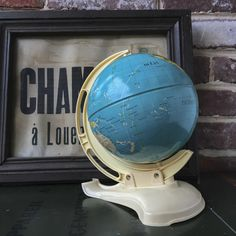 globe terrestre vintage Westerns, Globes, Maps, Photos, Pictures, Blue Prints, Globe, Map, Cards