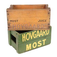 Vintage Hovgaard Crate Set- for storage