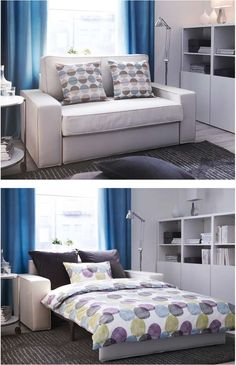 US Furniture and Home Furnishings Guest bedroom office, Guest room office, Murphy bed ikea Bedroom Couch Ideas Little Sofa Bed Mini Couche. Guest Bedroom Office, Guest Bedrooms, Bedroom Decor, Bedroom Ideas, Office Sofa, Bedroom Bed, Tiny Spare Room Ideas, Spare Bedroom Game Room Ideas, Bedroom Designs