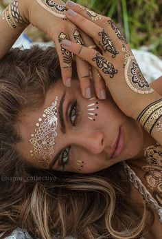 Mimi Henna | New IAMU Collective temporary tattoos available at The Freedom State |
