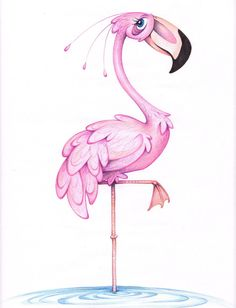 Flamingo by Fli-nn on DeviantArt