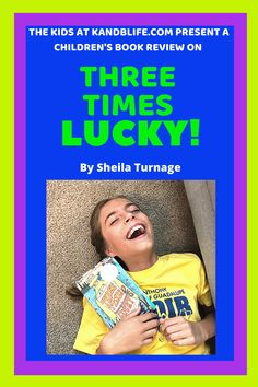 You will fall in love with the main character, Mo (short for Moses). She's spunky, funny, in 6th grade (like me) and quite the little detective. This book has so many great one-liners. I give some examples in the review, check it out! You'll be laughing like me! Children's Books, Good Books, Great One Liners, Book Reviews For Kids, Happy Reading, Positive Messages, Main Character, Love Book, Getting Old
