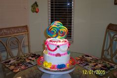 10 Year Old Cakes | candy cake this birthday cake was made for a 10 year old girl