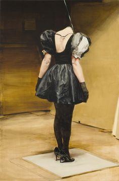 Michaël Borremans  The Loan 2011  310 x 205 cm  oil on canvas
