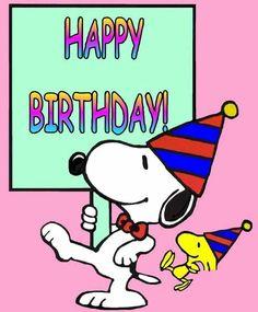 Follow me & The Gang :) https://www.pinterest.com · Peanuts Happy BirthdaySnoopy ...