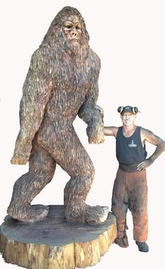 chainsaw carving | Art Gallery and Studio Now Open at 3795 Blossom Drive NE, Salem ...
