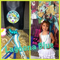 Lagoona Blue inspired. Monster High Dress up game. Monster High Party.