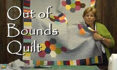 Modern Quilt Tutorial from The Missouri Star Quilt Company.