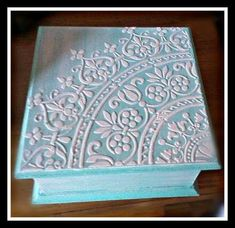 Diy And Crafts Sewing, Upcycled Crafts, Crafts To Make, Home Crafts, Napkin Decoupage, Decoupage Vintage, Decoupage Paper, Cigar Box Crafts, Paisley Art