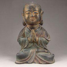Old Chinese Brass Statue - Buddha