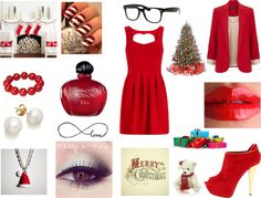 """Merry X-Mas ♥."" by shaimae ❤ liked on Polyvore"