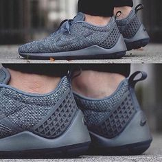 "Nike Lunarestoa 2 SE ""Cool Grey"". Follow @freshtastics for the best street fashion posts!"