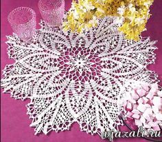 Page 1 of 2 Frilly Doily