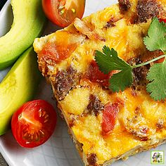 Looking for easy Mothers Day recipes? Try this Overnight Breakfast Casserole recipe made with bacon and sausage. Prepare the night before and bake while mom is sleeping in. Overnight Breakfast Casserole, Breakfast Casserole Sausage, Casserole Dishes, One Pot Dishes, One Pot Meals, Grilling Recipes, Crockpot Recipes, Easy Food To Make, Dairy Free Recipes