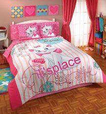 Twin, Full Girls Disney Marie Aristocats Comforter Set