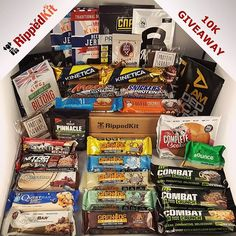 | GIVEAWAY! | So we heard you like protein? 😉 We just hit 10k followers and are celebrating by giving away this huge high-protein snack selection! 🎁🎄 One of you is gonna have an extra special Christmas.  It includes a delicious mix of the best protein bars on the market, picked from our current and previous boxes. Plus protein powder samples, protein desserts, beef jerky, nut butter and more! 😍 To enter:  1) Follow us (yes we will be checking) 2) Like this picture 3) Tag 3 friends in the…
