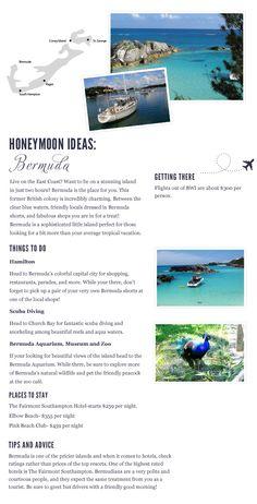 Bermuda Honeymoon Destination