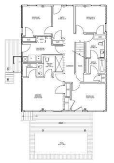 High Class Hampton's - container home - I could live with this! :) Could we enclose the pool - indoor lap pool? yes please!