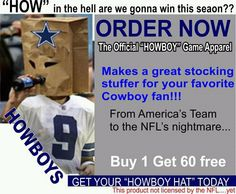 Dallas Cowboys, the most talented team in NFL history. Dallas Cowboys Jokes, Cowboys Memes, Philadelphia Eagles Helmet, Funny Football Memes, Jerry Jones, Nfl History, Sports Humor, Stocking Stuffers, Comedy