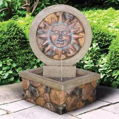 "29.5"" $226.86Design Toscano SS12506 Chapoteo Del Sol Sculptural Fountain"
