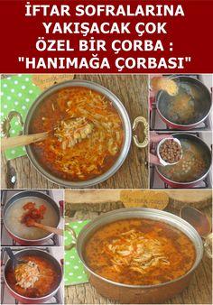 Ladys Soup- Hanımağa Çorbası Soup Recipes for Iftar Iftar Soup Special S Iftar, Best Soup Recipes, Dinner Recipes, Chicken Caesar Recipe, Juicy Meatball Recipe, Turkish Recipes, Ethnic Recipes, Crazy Cakes, Eggplant Recipes
